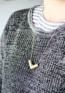 hardware store necklace DIY | by AMM blog