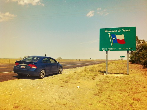 Welcome To Texas Sign - Texas, New Mexico Border | by Brian DeFrees