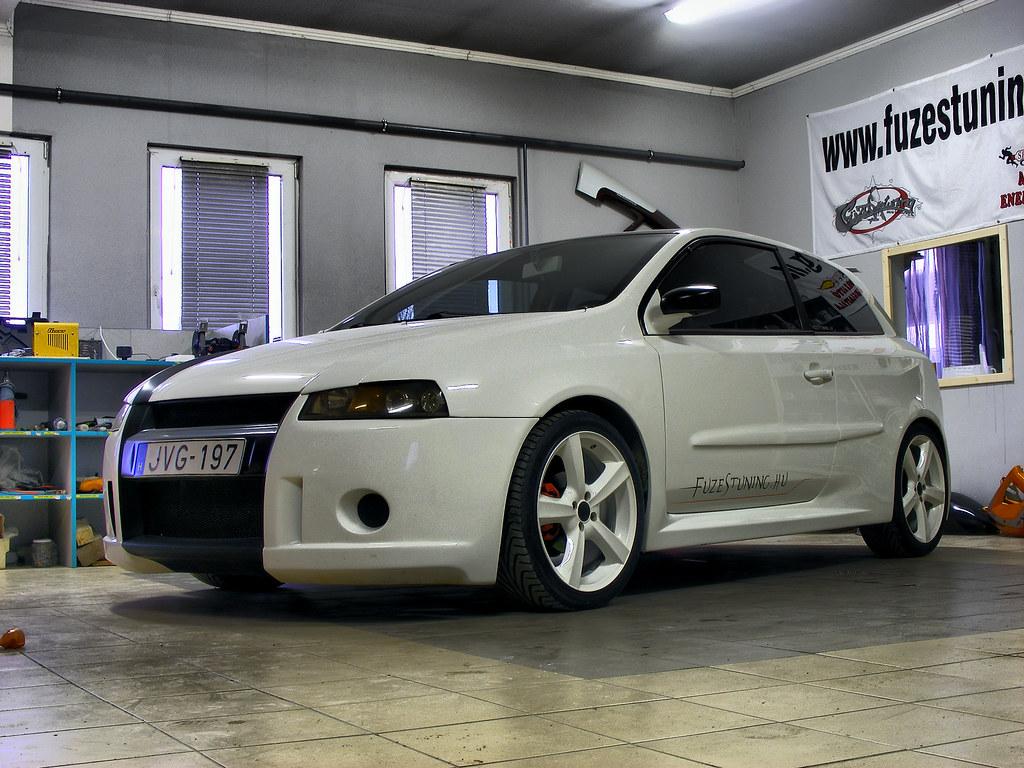 Fiat stilo by f zestuning garage huszas flickr for Garage fiat englos horaires