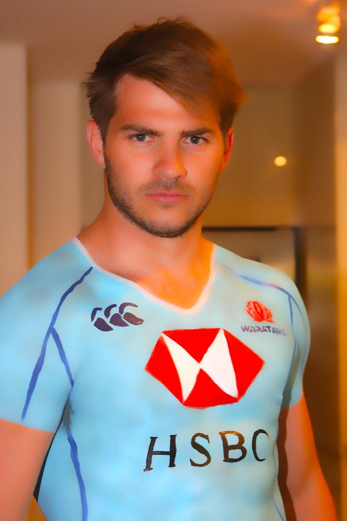 Drew Mitchell Waratahs Rugby Union Player Drew Mitchell
