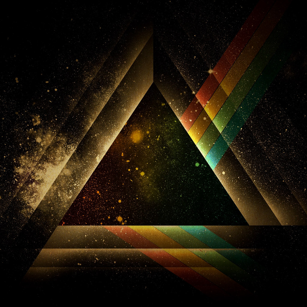 Dark Side Of The Triangle 2048 X 2048 Pixel Image For