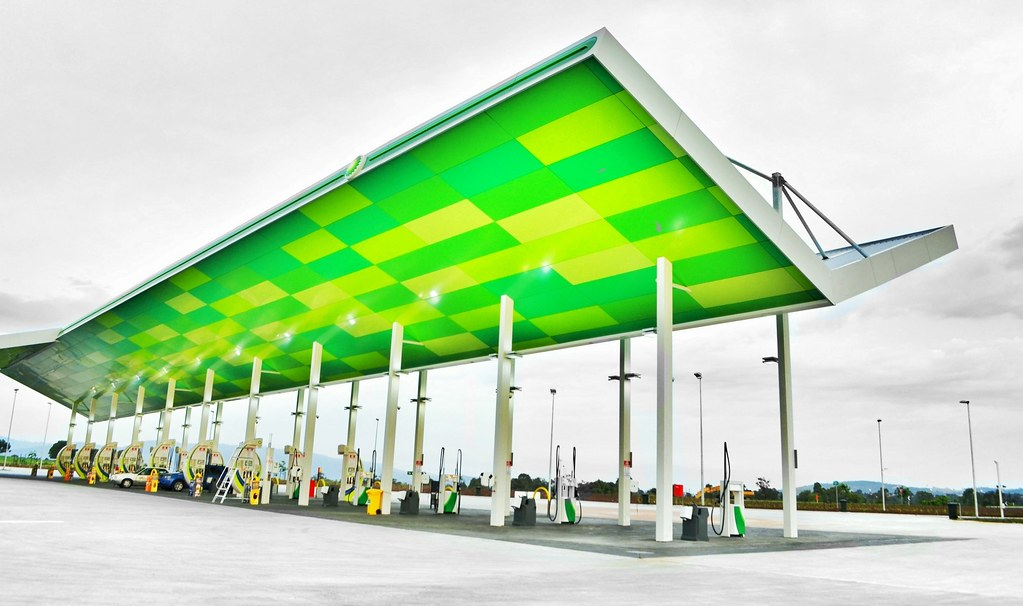 Service Station Canopy | by phunnyfotos Service Station Canopy | by phunnyfotos  sc 1 st  Flickr & Service Station Canopy | Eastlink Outbound | phunnyfotos | Flickr