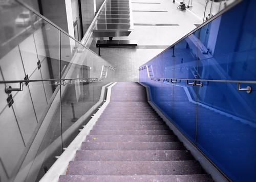 Blue Stairs | by Jack Landau