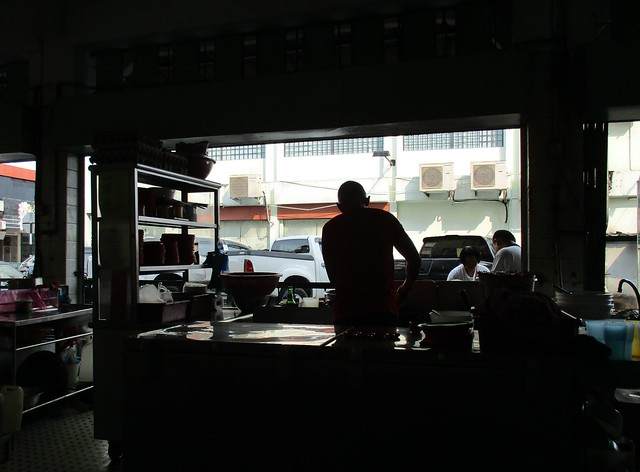 Huang Chuang Cafe fried pek koi guy