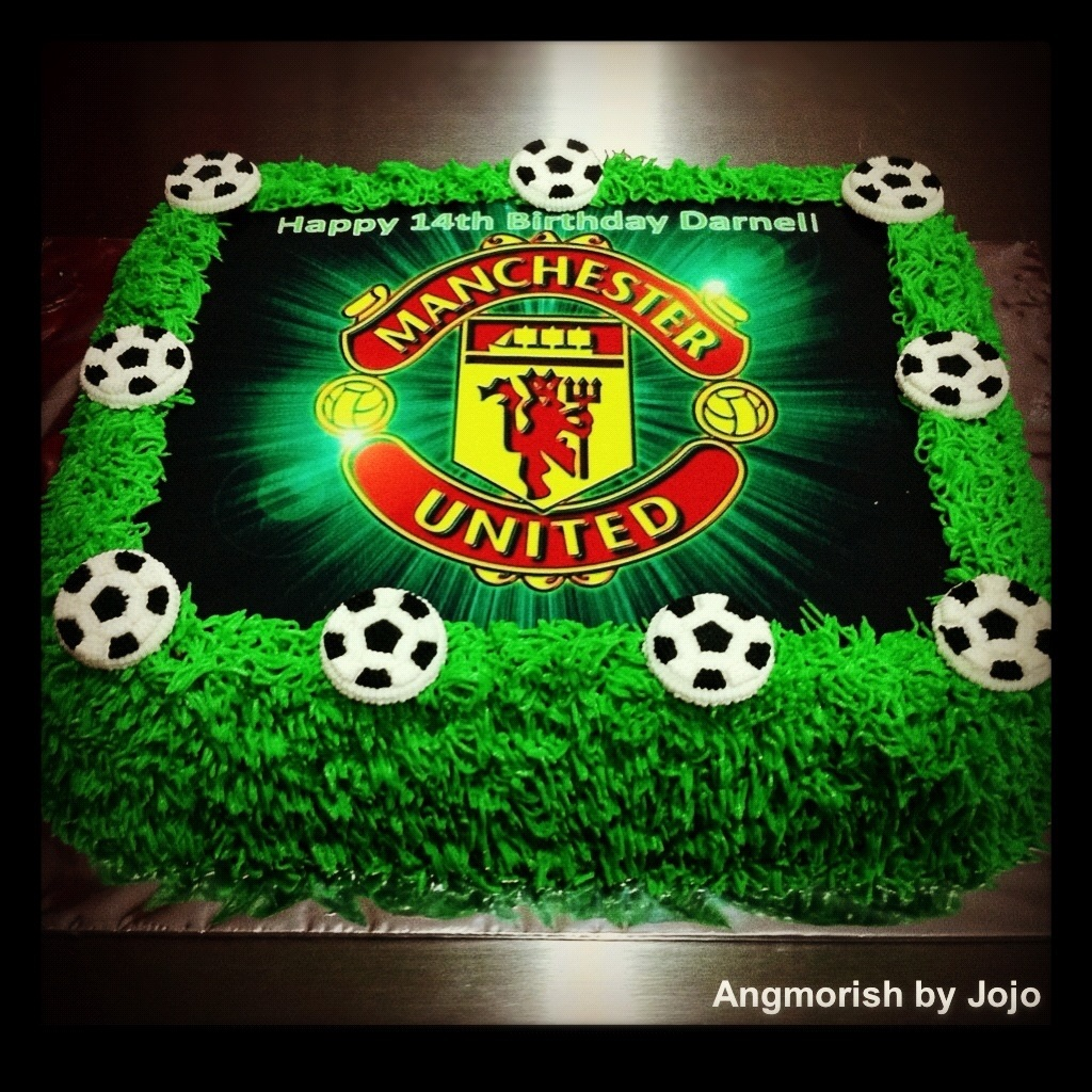 Manchester United Themed Cakes