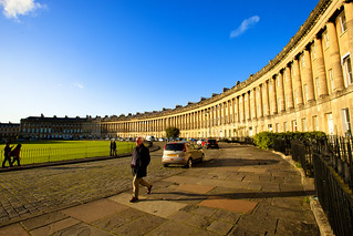 Bath-RoyalCrescent_01 | by Steve Leverett