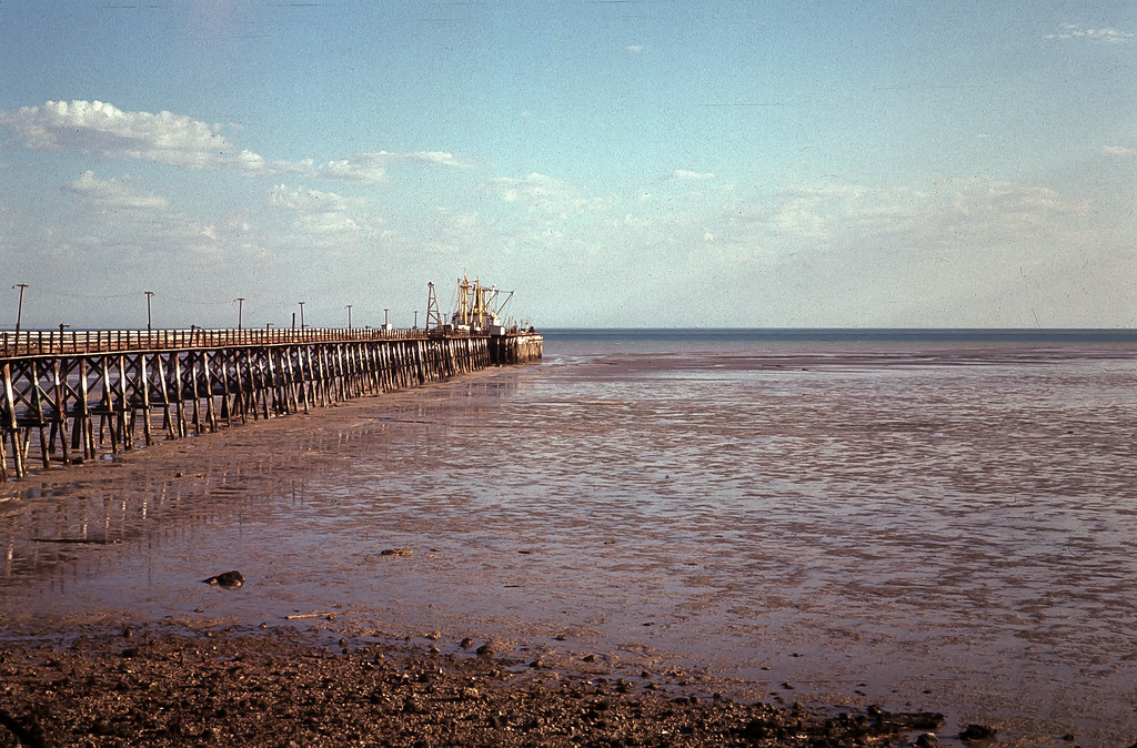 The Old Broome Jetty at Town Beach - Circa 1965  Image ...