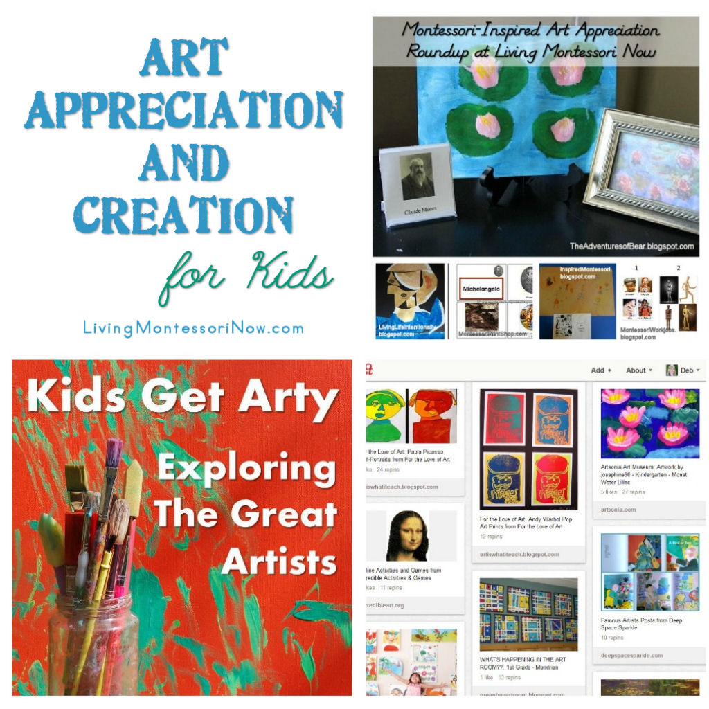 Art Appreciation and Creation for Kids - Living Montessori Now