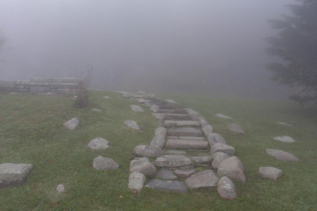 Foggy Path at Clingmans Dome | Foggy path at Clingmans ...