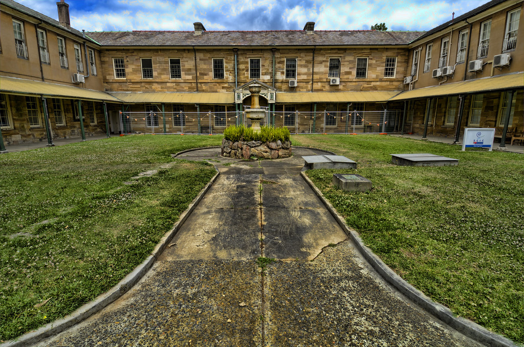 Asylum Buildings | Frederick Manning | Flickr
