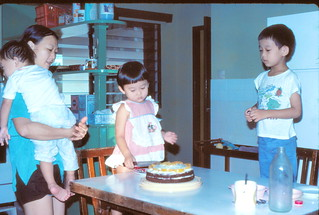 1982 Oct - My 3rd birthday | by maelie