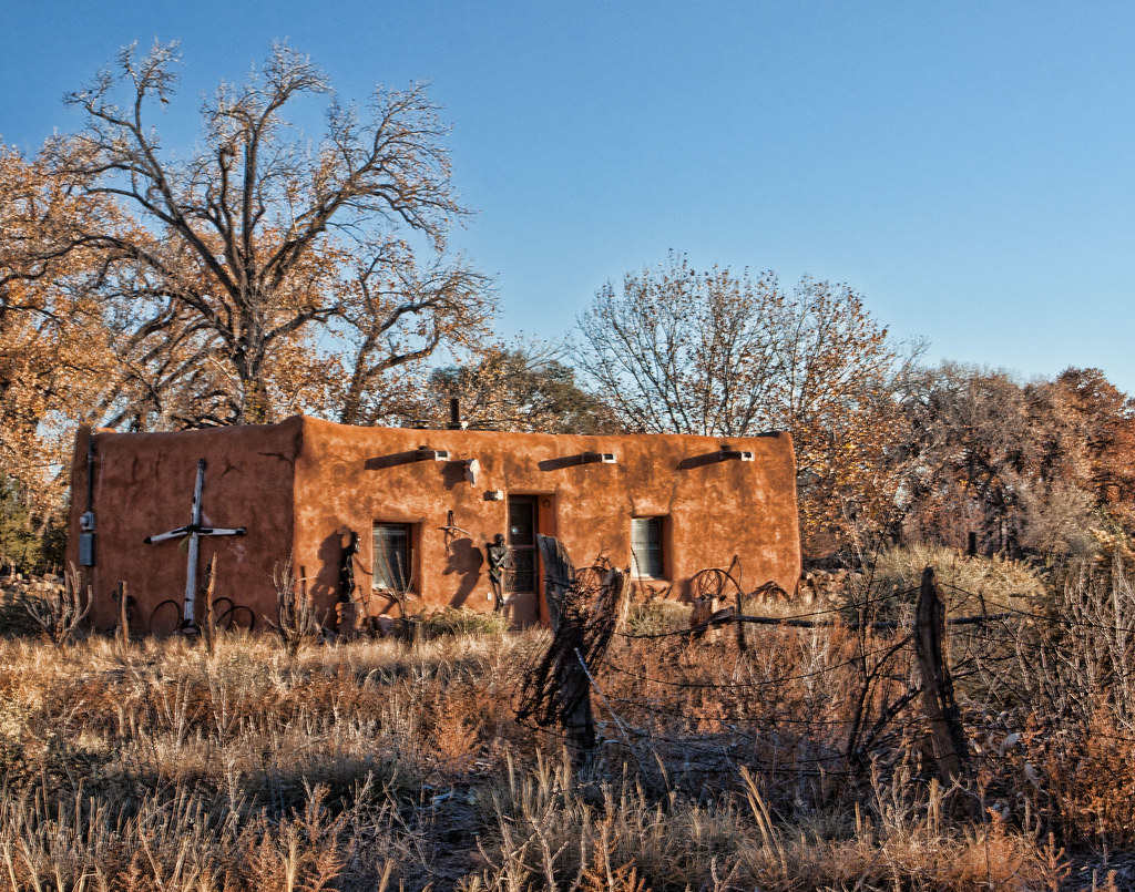 Old Adobe House | Taken in Galisteo NM | Paul Littman | Flickr
