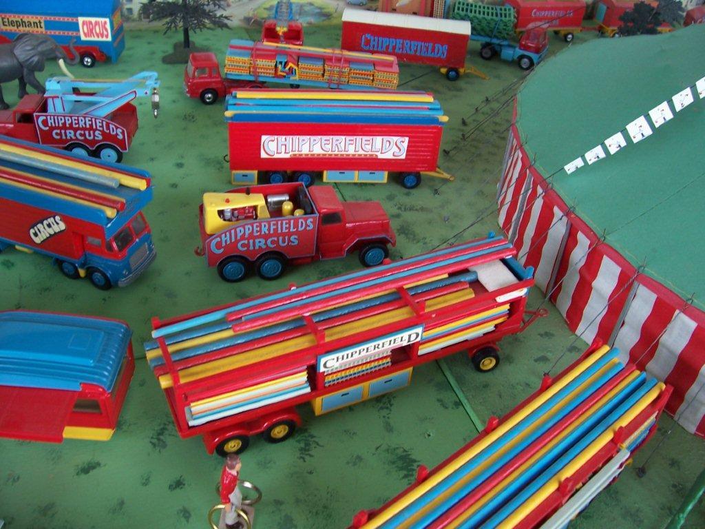 Code3 Chipperfield Circus Transport Model Trucks