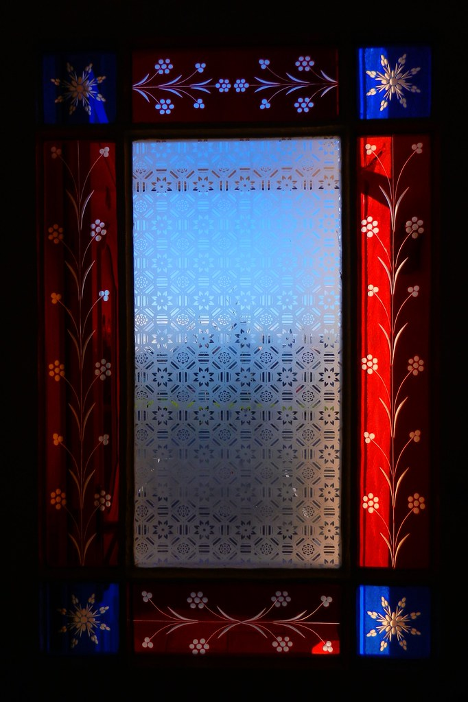 Victorian Glass In Vestibule Door Edge Hill This Beautifu Flickr