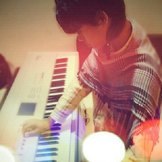 me and my piano #me #and #my #keyboard #piano #korg #music… | Flickr