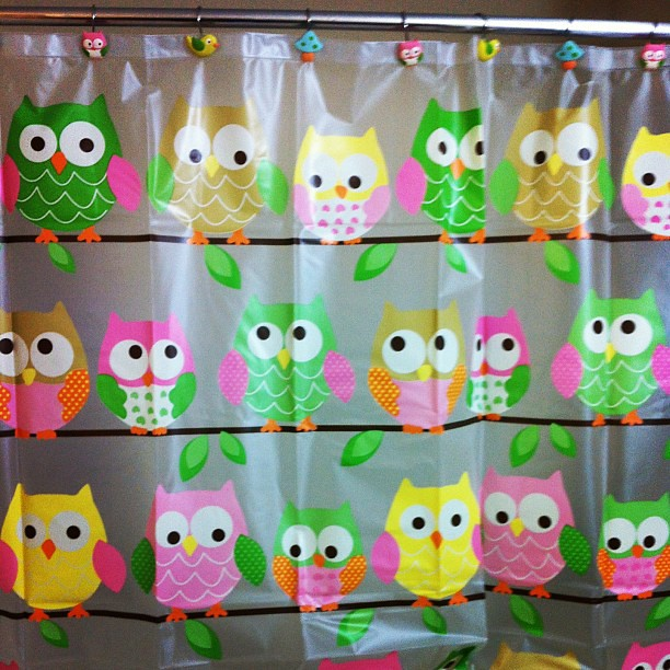 Cutest Owl Shower Curtain On Clearance Target