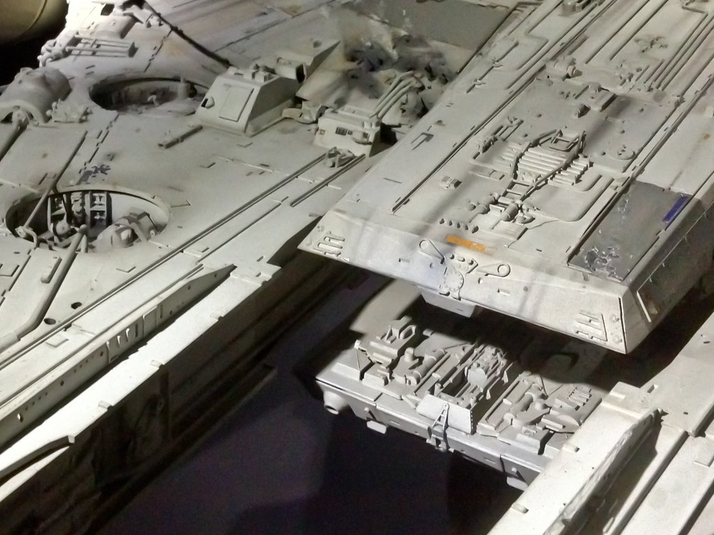 Millennium Falcon Vintage Model Used In Filming 160522