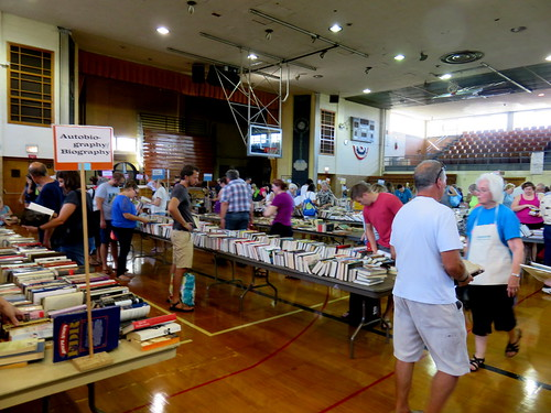 AAUW Used Books Sale August 26, 2016