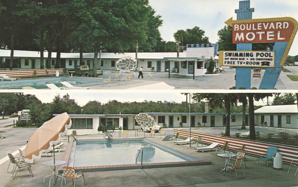 Boulevard Motel - Deland, Florida