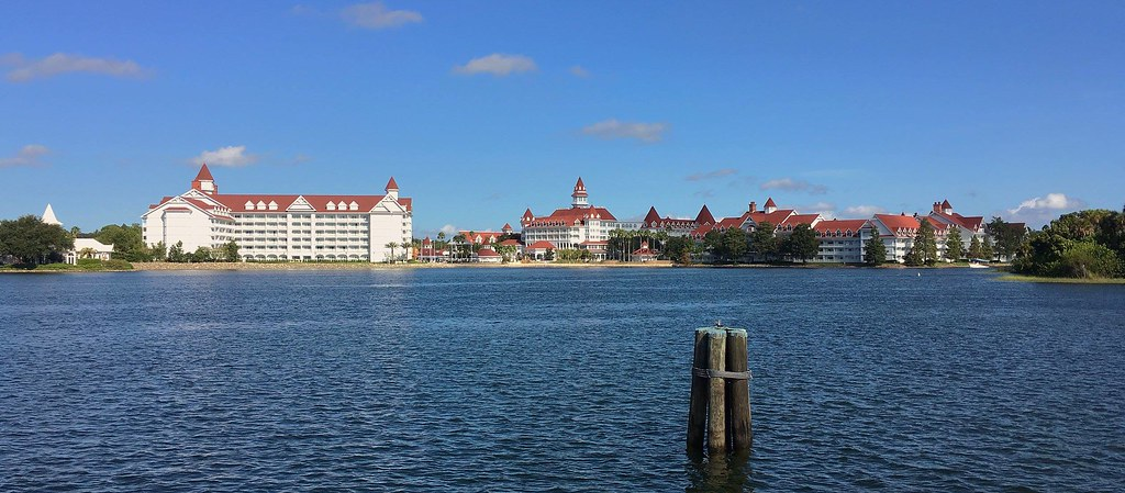 Walt Disney World boat transportation ferry resort