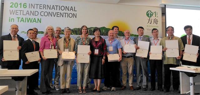 來自香港、中國、澳洲、印度、日本、荷蘭、瑞士、美國等國、共15位濕地保育專家與會交流。攝影:林倩如。