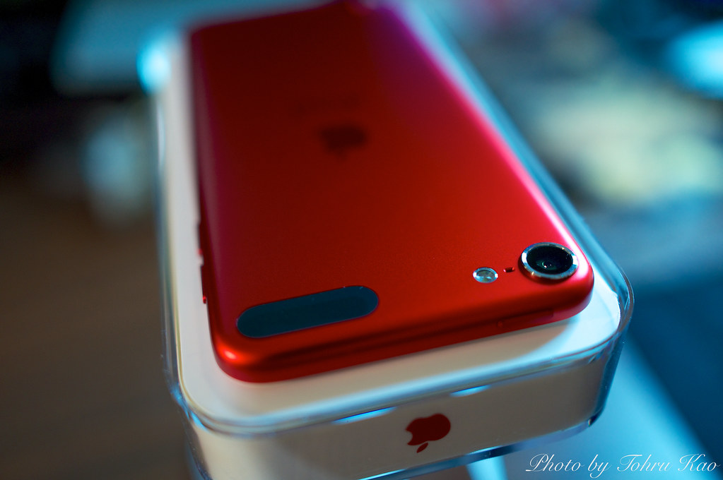 ipod touch red 5th generation tohru kao flickr