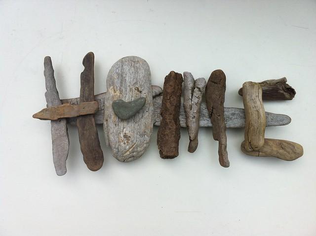 Driftwood Art Home Handmade By