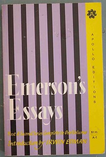emerson's essays | by cdrummbks