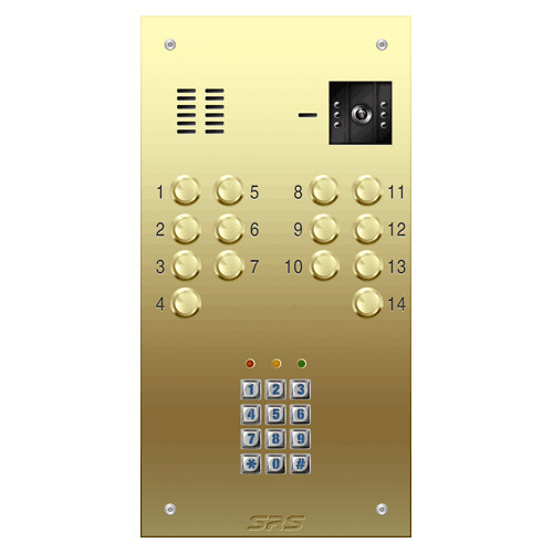 Video Door Entry Srs Video Door Entry System 14 Way Brass Flickr
