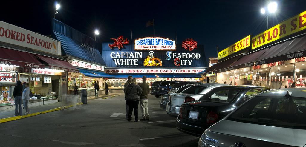 Maine Avenue Fish Market Washington Dc Curtis Perry