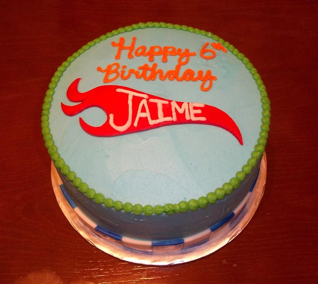 Magnificent Hotwheels Birthday Cake Strawberry Cake With Vanilla Butte Flickr Funny Birthday Cards Online Alyptdamsfinfo