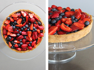 Berry and ricotta tart | by PiPs75