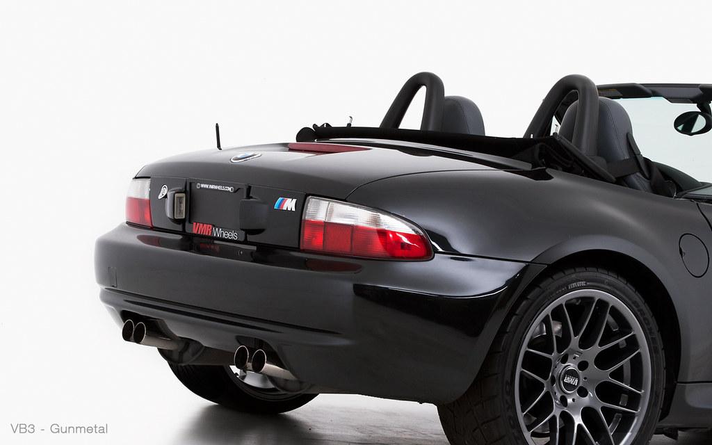Vmr Wheels 18 Quot Hyper Black Vb3 On Jet Black Bmw Z3 M Cou