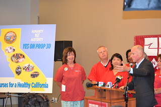 Jerry Brown press conf 043 | by calnursesphotos