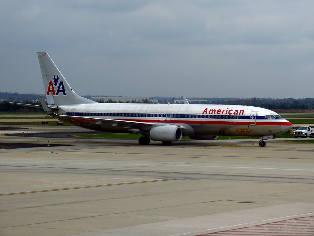 N945an American Airlines Boeing 737 800 Washington Dulles Flickr