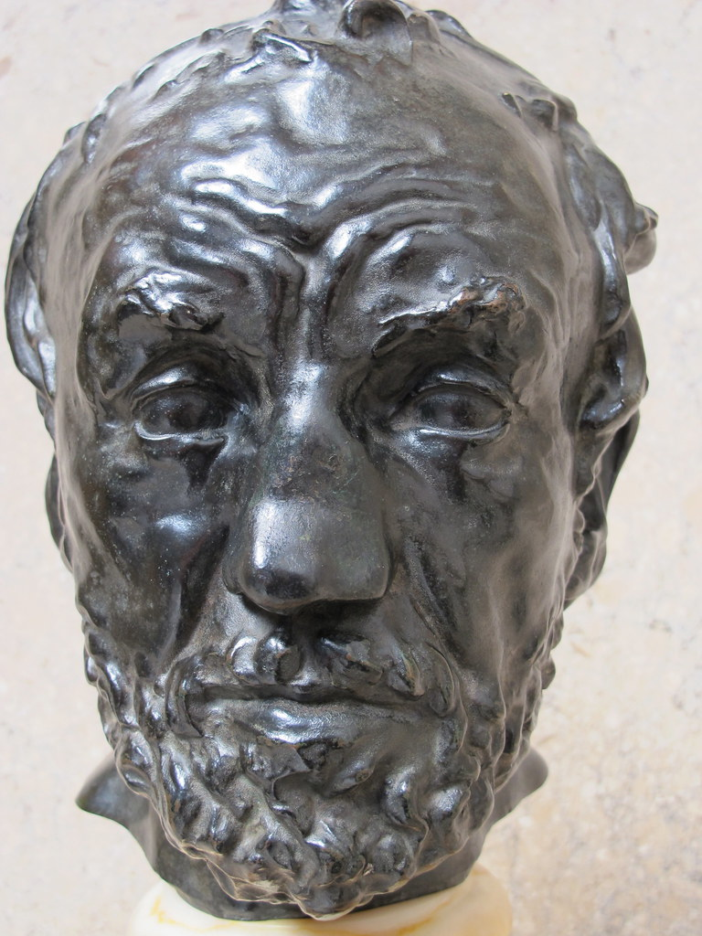 Mask of the man with the broken nose | Cast in bronze 1925 ...