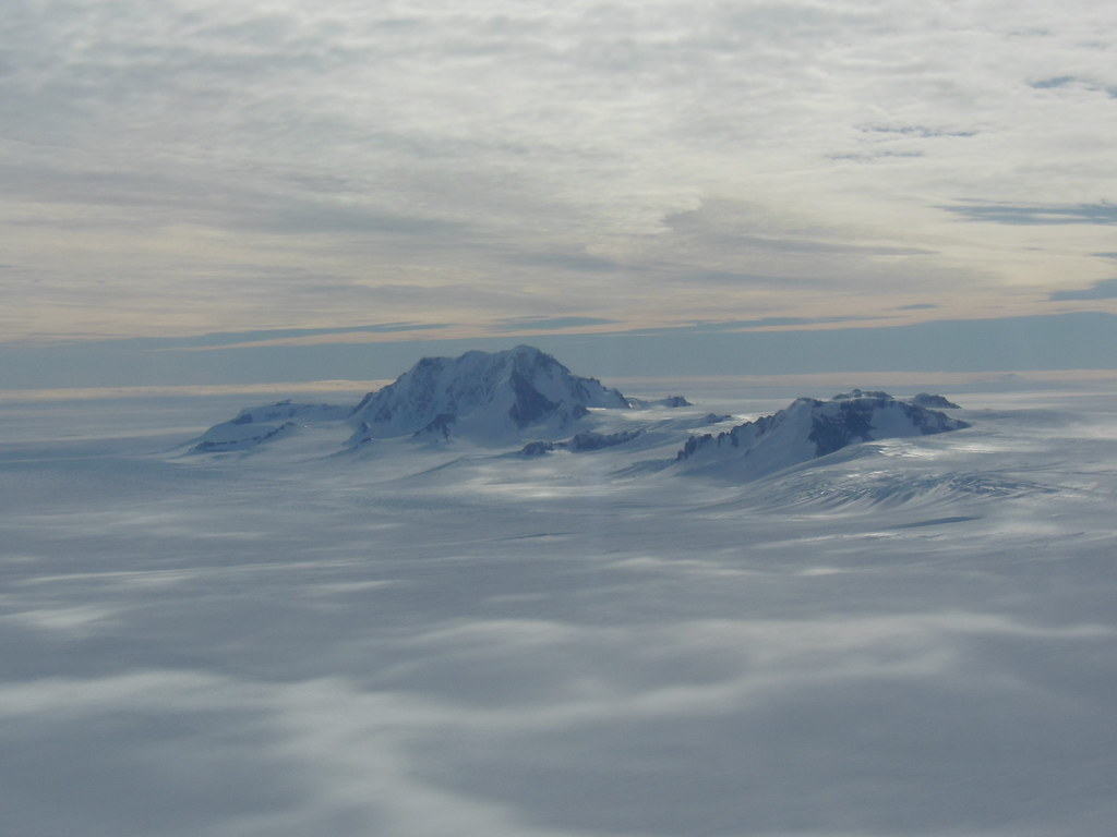 antarctic mountains mountains seen from the icebridge dc