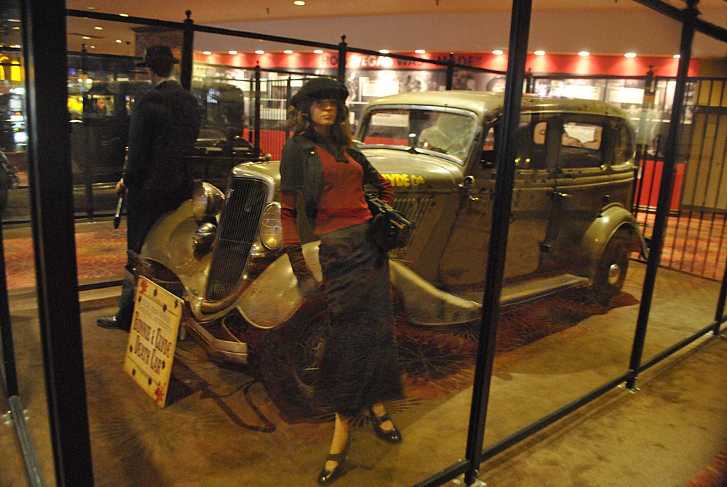 Bonnie Parker and Clyde Barrow Artifacts at the Primm Valley