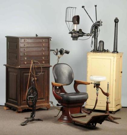 Old dentist chair Dentist chairs 1800 s