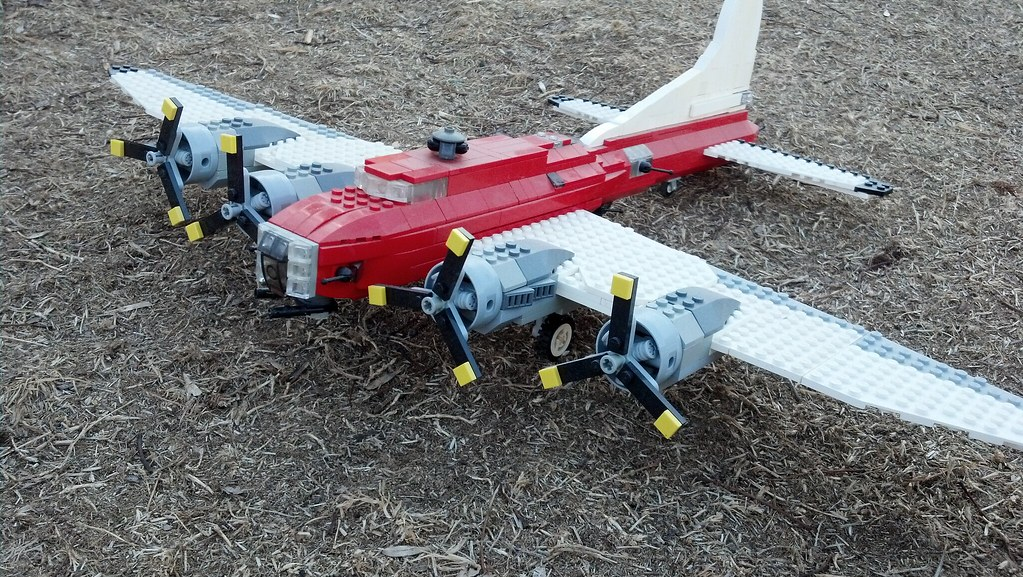 Lego moc b 17 flying fortress a waters flickr