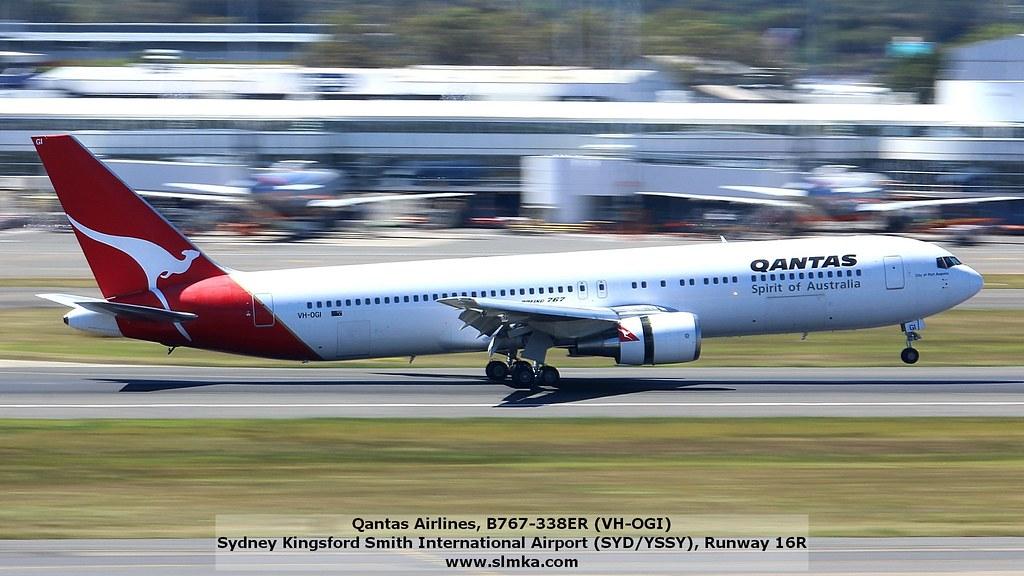 Qantas by mk