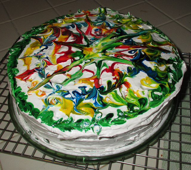 Food Dye Cake Frosting Stool