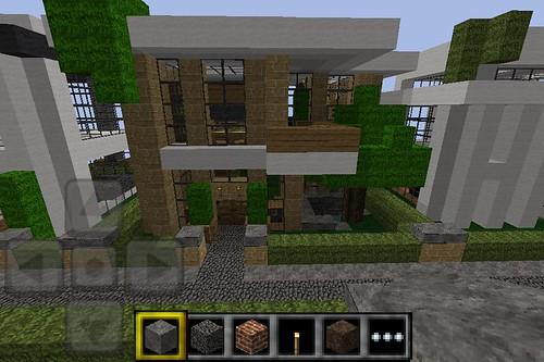 Minecraft PE Modern House Ok So These Where Made On Pe