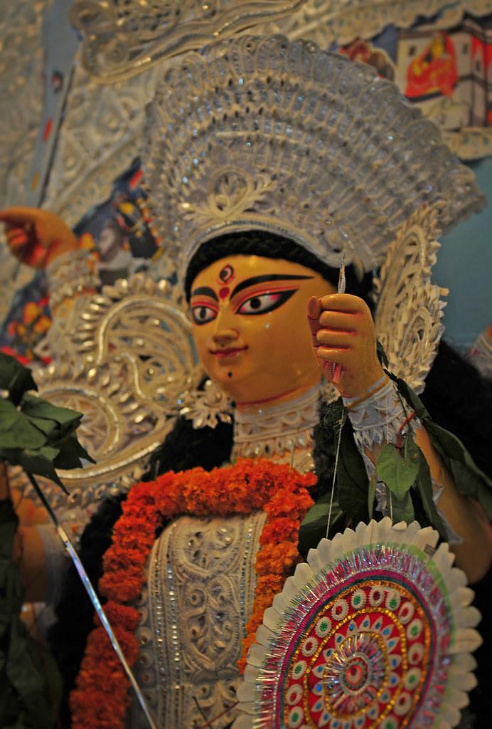 Durga Idol 2012 Nivedita Enclave Paschim Vihar Delhi