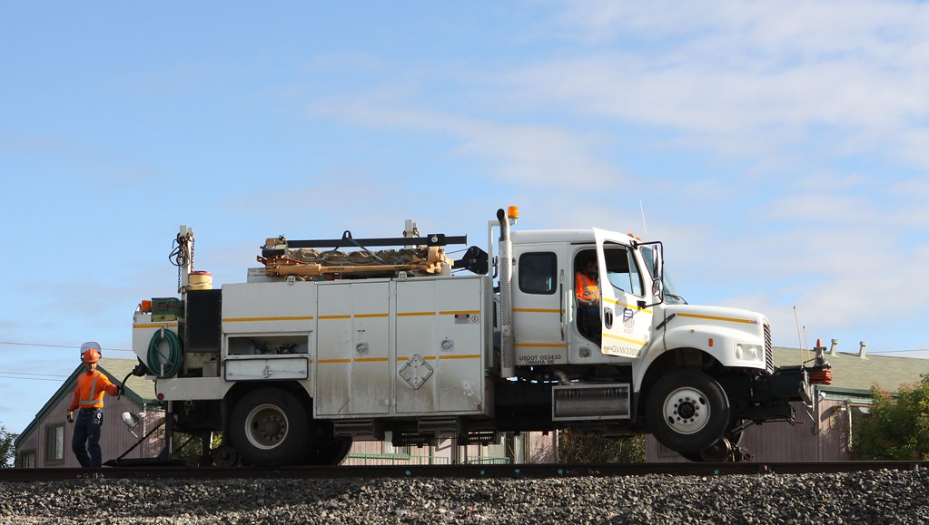 Union Pacific Maintenance of Way Truck King City, CA   Flickr