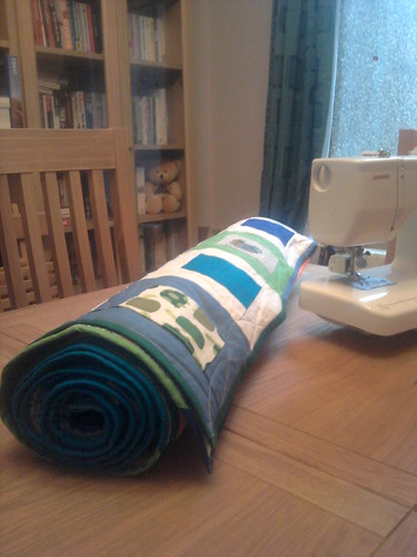 H's quilt all rolled up | by sarahlou2012