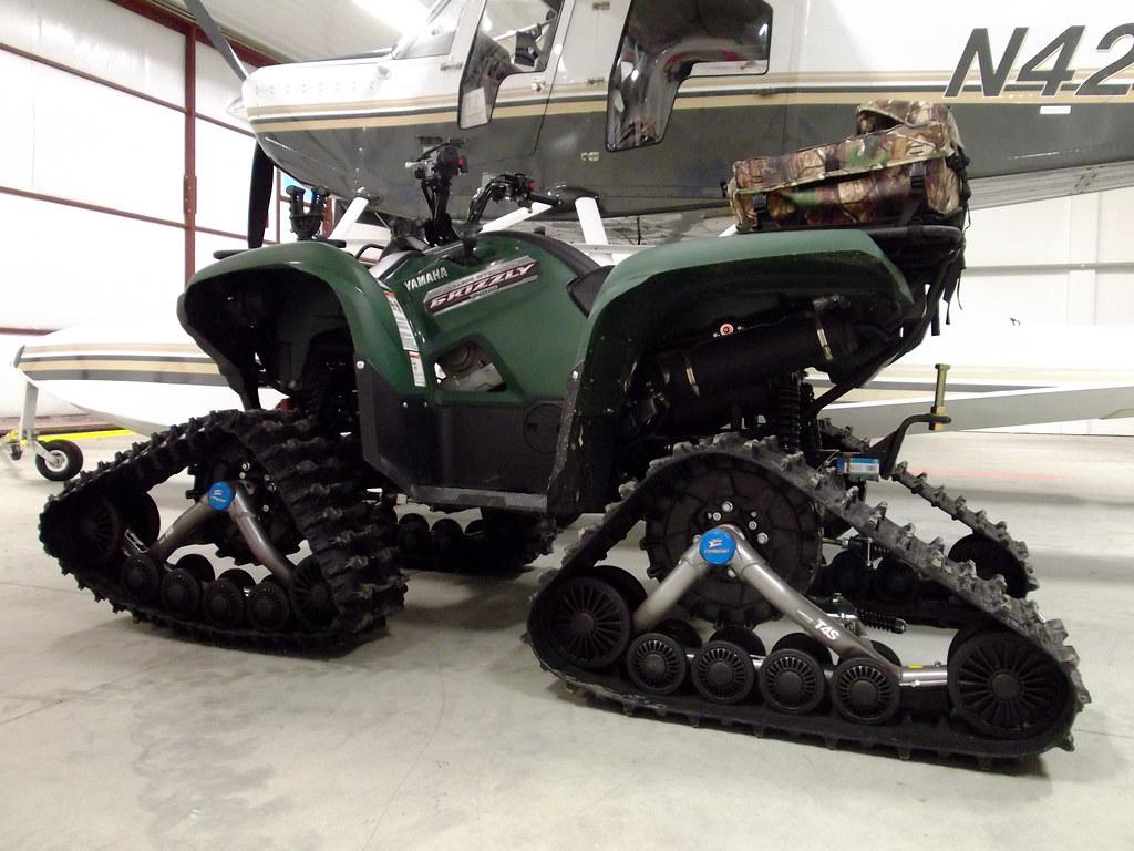 Yamaha Grizzly  Snow Tracks