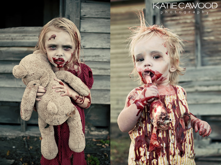 Zombie session by katie cawood by katie cawood