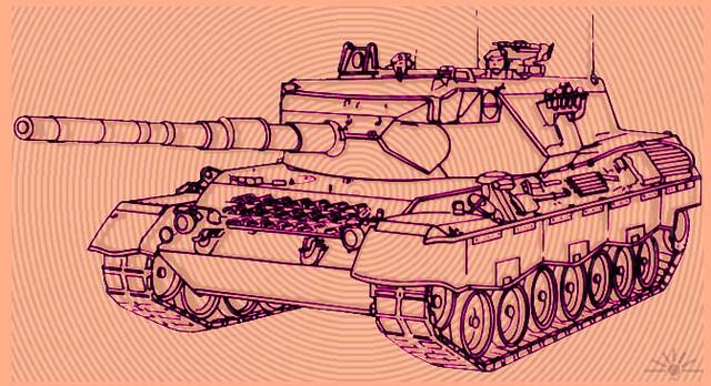 Rheinmetall leopard main battle tank