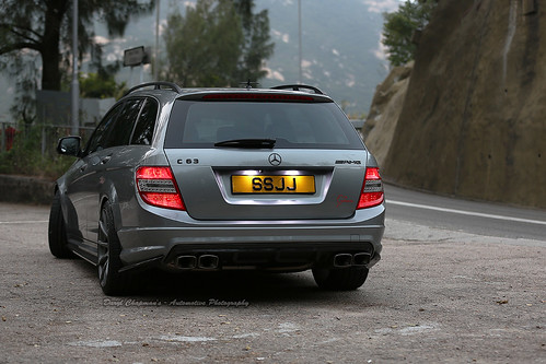 Mercedes benz c63 amg wagon shek o hong kong flickr for Mercedes benz c63 amg wagon